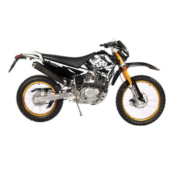 موتورسیکلت تریل روان مدل کیو ام 200 سی سی سال 1400